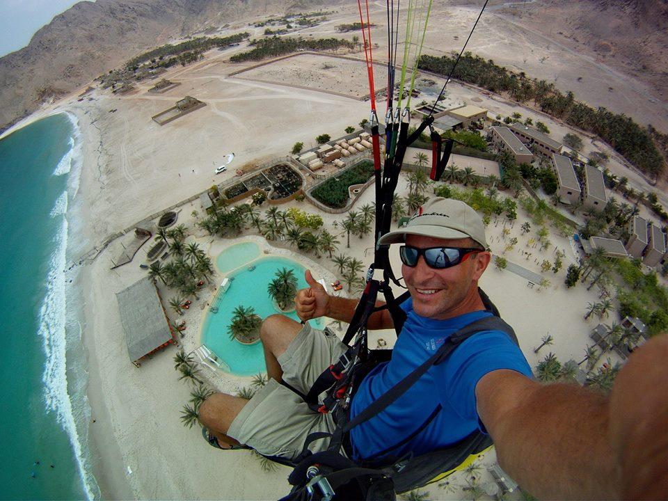 Paragliding Six Senses Zighy Bay 1