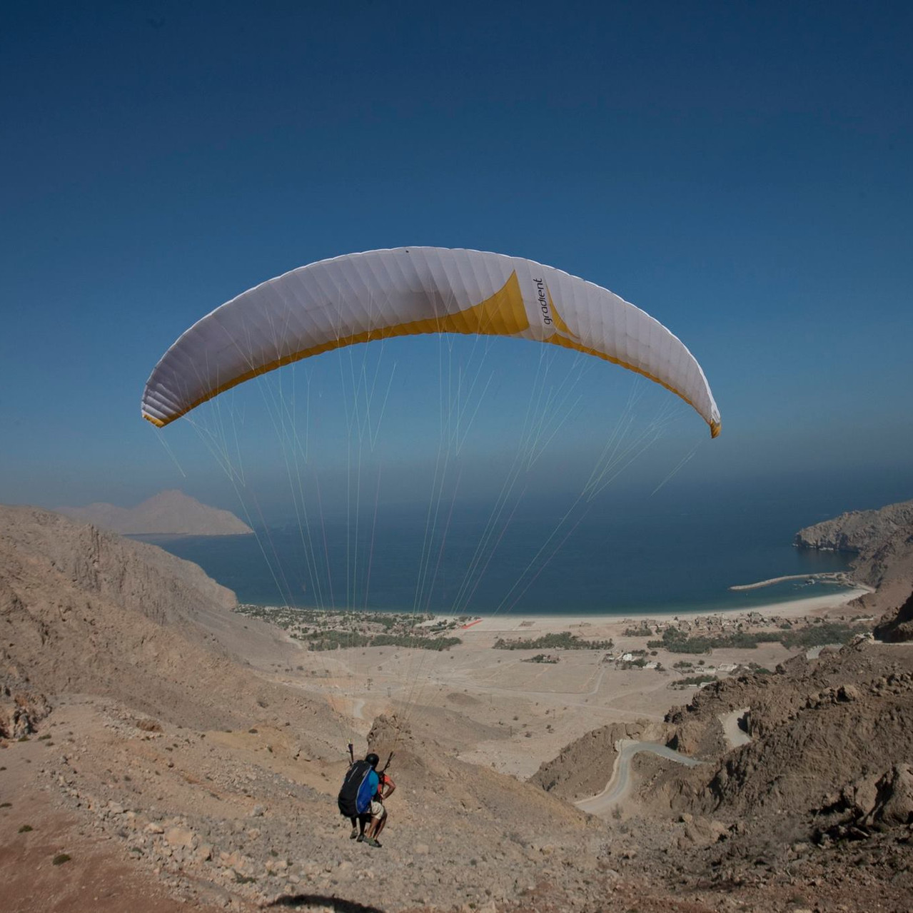 Paragliding Six Senses Zighy Bay 3