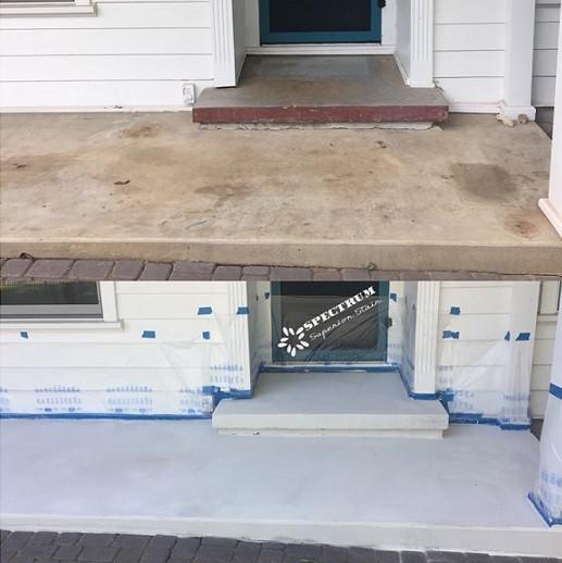 Exterior Concrete Resurfacing