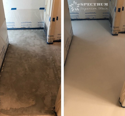 Interior Concrete Resurfacing