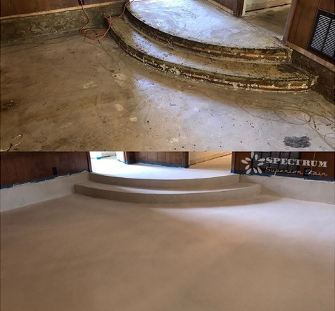 Interior Concrete Overlay