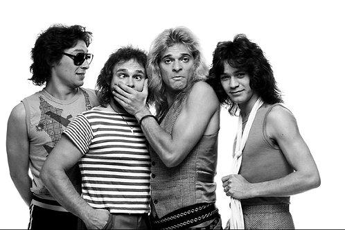 Van Halen-030 - Studio shot - 1981