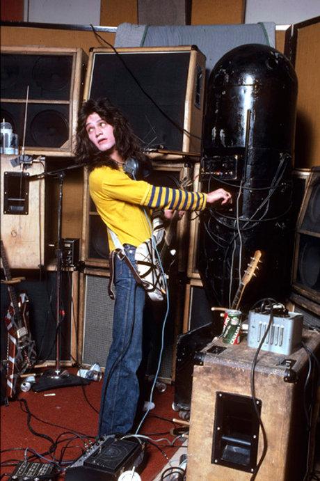 """Van Halen-029 - 1978 Recording """"Van Halen II"""""""