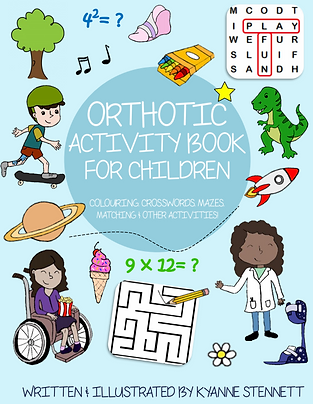 Orthotic Activity Book for Children