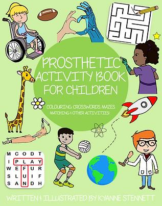 Prosthetic Activity Book for Children