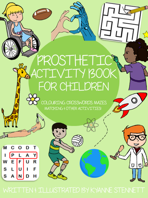 Prosthetic Activity Book for Children