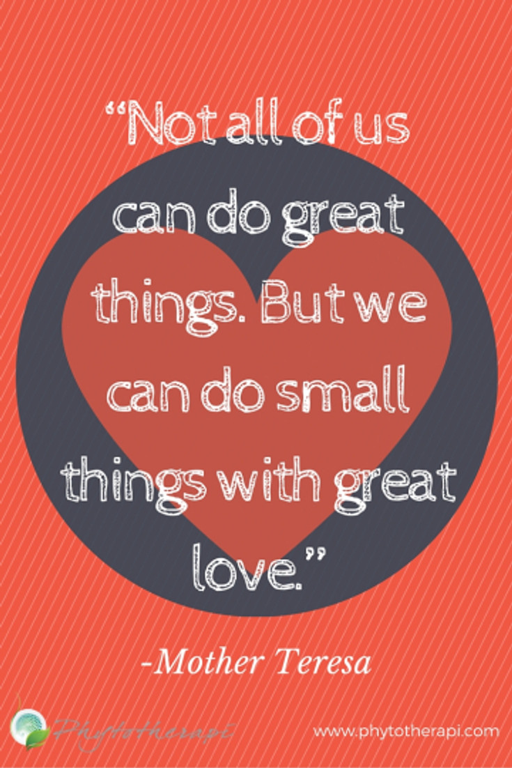 """""""Not all of us can do great things-PIN"""