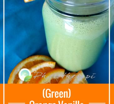 (Green) Orange-Vanilla Smoothie