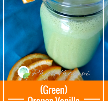 (Green) Orange-Vanilla Smoothie