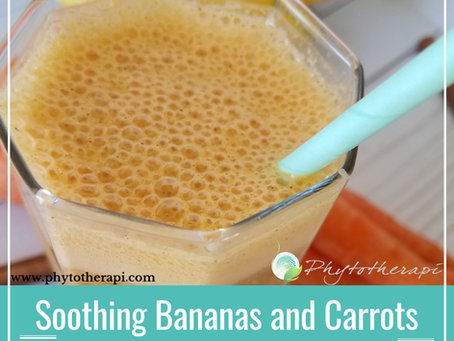 Soothing Bananas and Carrots