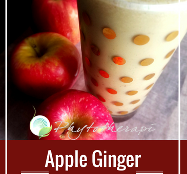 Apple Ginger Spiced Smoothie