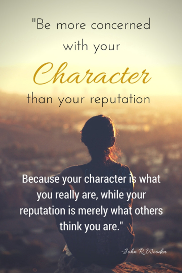 Pinterest Character Quote