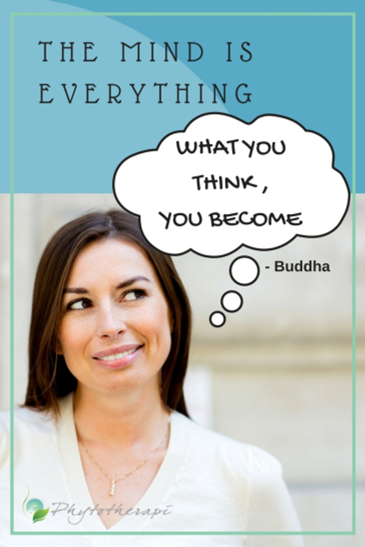 what you think,you become