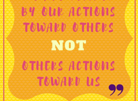 Our actions