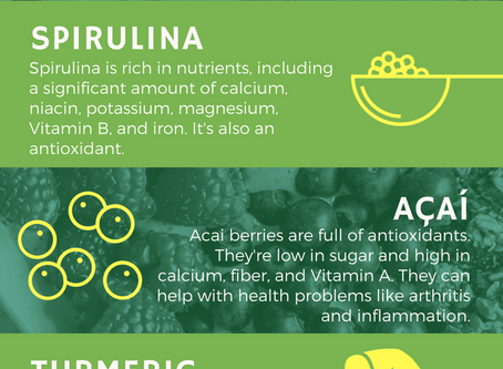 Superfoods You Should Know About (Infographic)