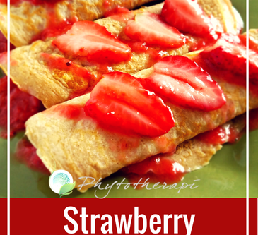 Strawberry Cloud Crepes