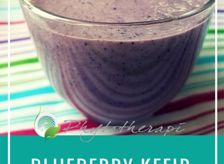 Blueberry Kefir Smoothie