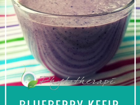 Blueberry Kefir Smoothie