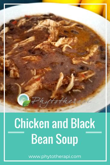 Black Bean Soup-English