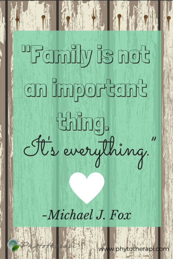 """Family is not an important thing. It's everything.""""-PINTEREST"""
