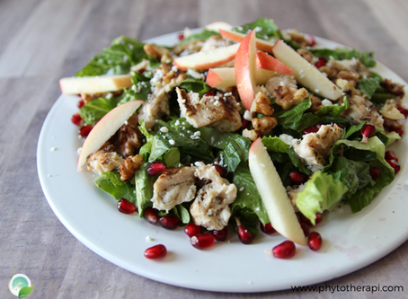 Pomegranate Chicken salad