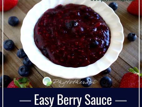 Easy Berry Sauce
