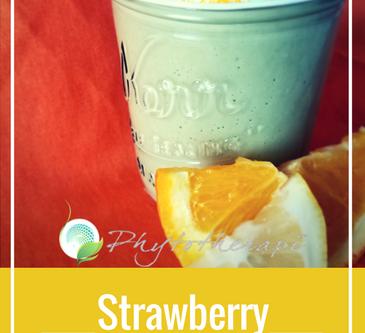 Strawberry-Citrus Smoothie