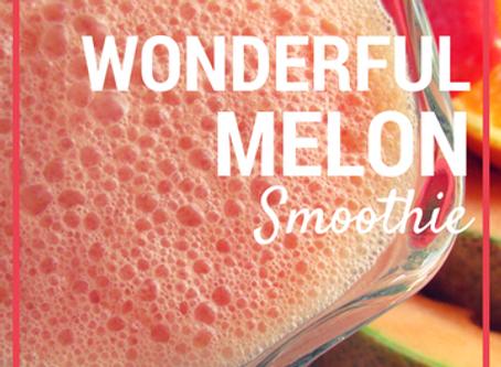 Wonderful melon smoothie