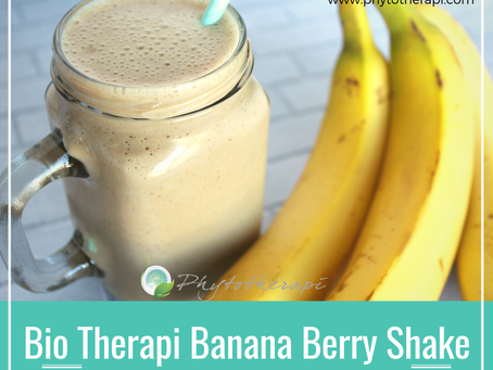 Bio Therapi Banana Berry Shake