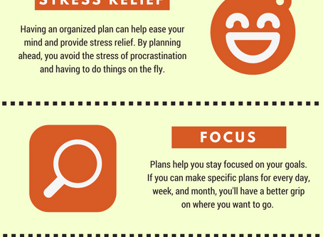 The Benefits of Planning (Infographic)