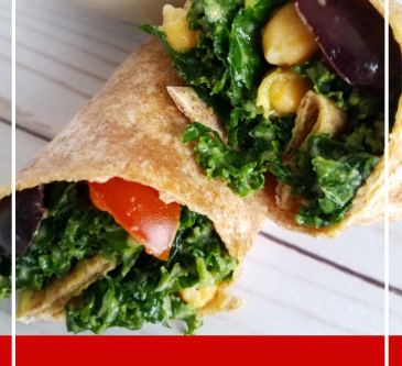 Kale Salad Wrap