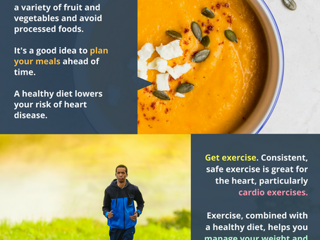 Keeping Your Heart Healthy (Infographic)