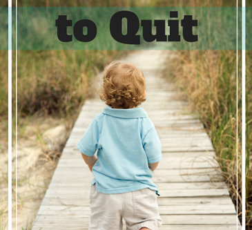 Not Born to Quit