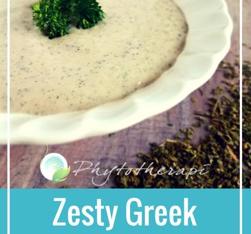 Zesty Greek Dressing