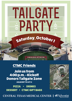 CTMC Tailgate Party Invitation