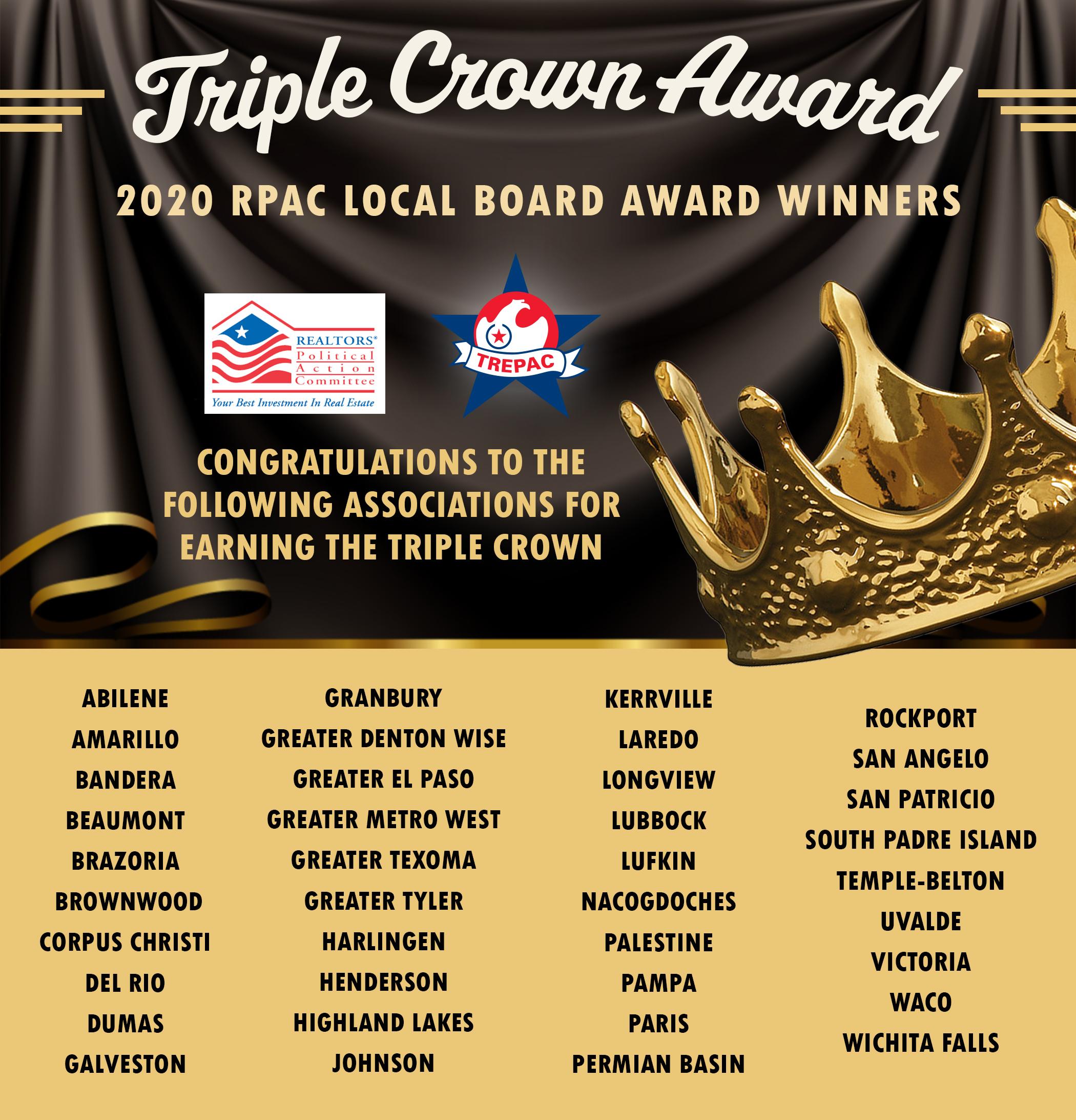 Texas Triple Crown Graphic