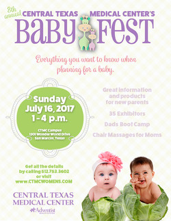 Baby Fest flyer