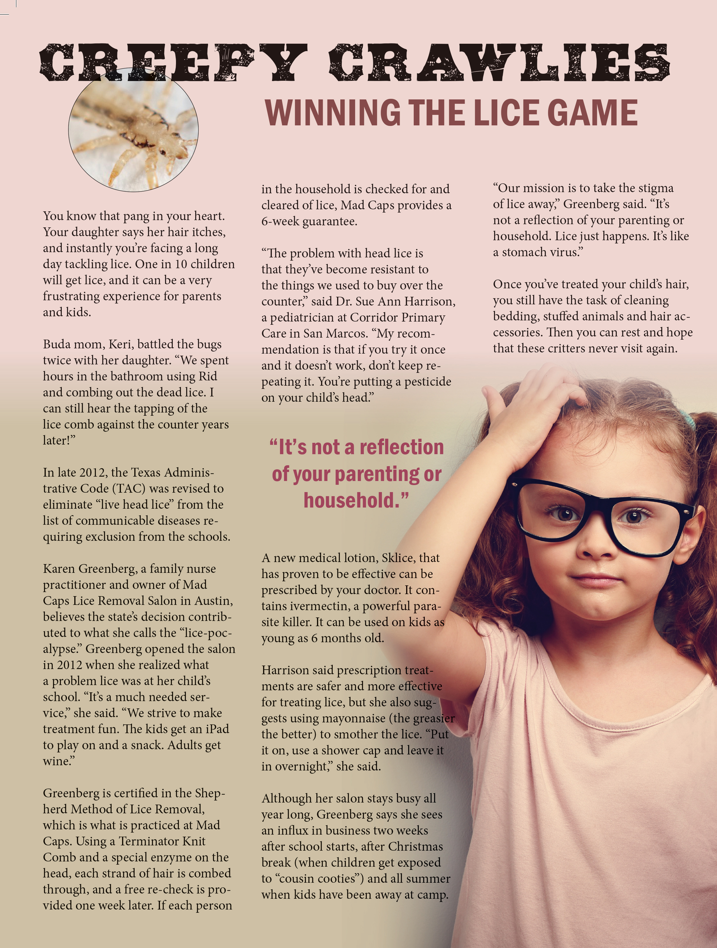 Lice Article