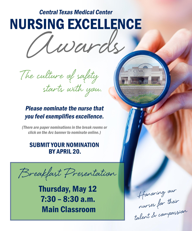Nursing Excellenge Awards 2016
