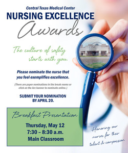 Nursing Excellenge Awards 2016