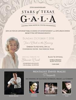 2018 Gala Event Flyer