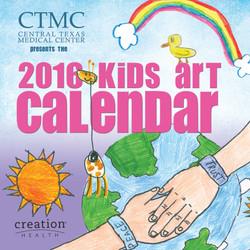 Kids Art Calendar