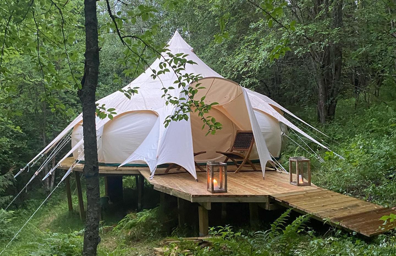 En annerledes teltopplevelse hos Indal.