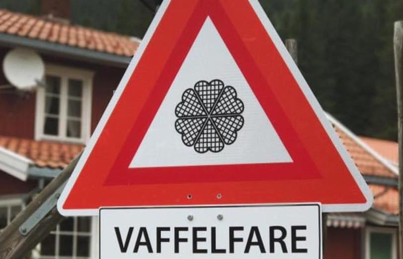Vaffelfare på Torsætra.