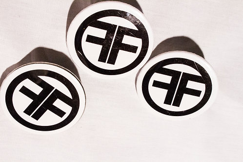 Foolery Vintage Logo Buttons