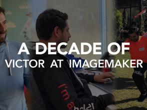 A decade!: Víctor Agurto turns 10 at Imagemaker