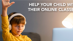 Tips to support your children in online classes