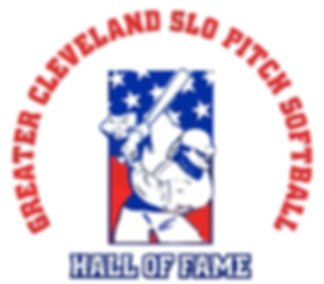 Greater Cleveland Slo Pitch Softbal Hall of Fame Logo
