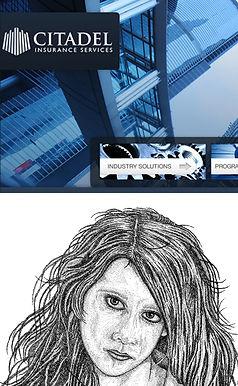 web design, web graphics, social media, illustration, renderings, art work, portraits