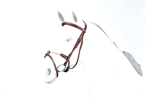 No-Stress Flash Bridle with rope noseband